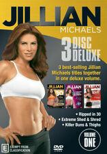 Jillian Michaels 3 Disc Deluxe Volume 1 DVD