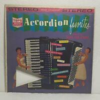 Accordion Favorites – Mel Brandt: Tops Records LP 1959 (Folk)