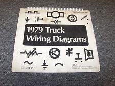 1979 Ford C600 C700 C750 C800 C900 C Series Electrical Wiring Diagram Manual