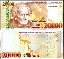 ARMENIA 20,000 20000 DRAM 2012 P 58 UNC
