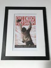 Free Energy & Foxy Shazam A3 Concert Poster Framed. Classic Gig Art.