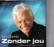 Ben Cramer-Zonder Jou cd single
