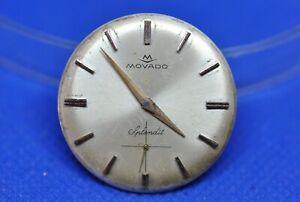 Original MOVADO SPLENDIT cal 125 manual winding movement & dial (1c/5853)