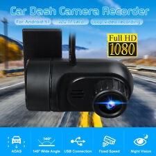 Full HD 1080P USB Car DVR Dash Cam Camera Video Driving Recorder For Android