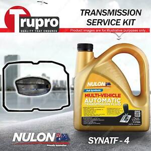 SYNATF Transmission Oil + Filter Service Kit for Jeep Wrangler JK 2.8 3.8 3.6L