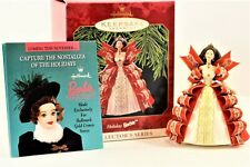 Hallmark Keepsake Ornament Collectors Series Holiday Barbie 1997 Free Shipping