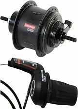 Gear hub Sram G8 with Freewheel black 36-hole incl. Gear shifter
