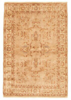 "Hand-knotted Carpet 4'7"" x 6'9"" Chobi Finest Traditional Wool Rug"