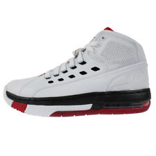 e05164933e7f Jordan Ol  School Mens 317223-112 White Black Gym Red Basketball Shoes Size  8.5