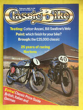 CLASSIC BIKE - February 1987 - 322cc Cotton Cotanza - Classic Price Guide