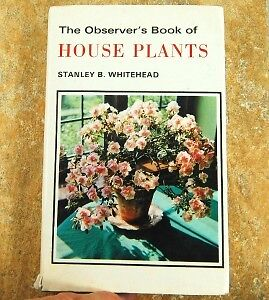 Observer Observer's Book of House Plants 1972 F. Warne