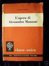 L'opera di A. Manzoni - A. Chiari 1960