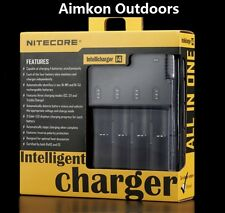 Nitecore i4 Intellicharger 4-Slot Universal Li-ion/Ni-MH/Ni-Cd Battery Charger