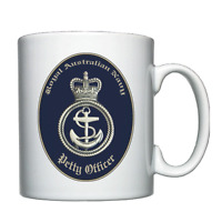 Royal Australian Navy - Petty Officer Beret Badge - PO - Mug
