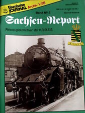 Eisenbahn Journal - SACHSEN REPORT Band n°3 1993 -Tr.21
