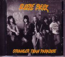SLEEZE BEEZ Stranger than Paradise PROMO DJ CD Single w/ POSTER 1990 USA