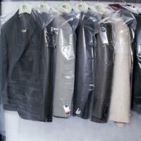 20Stk Kleiderschutzhülle Kleidersack Schutzhülle transparent 6 Mantelschutz V7H7