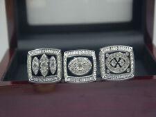 3pcs 1978 1980 1983 Oakland Raiders World Championship Ring !