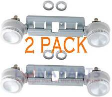 New listing 2 Pack Wb29K17 Double Top Burner Kit Fits Ge Kenmore Hotpoint Gas Oven Stove