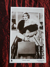 TAMARA DESNI - FILM STAR - TUCK'S REAL PHOTOGRAPH POSTCARD - #191-S