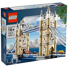 LEGO CREATOR TOWER BRIDGE 10214 - (New/sealed) LONDON SET 4287 Pieces Land Mark
