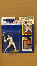 STARTING LINEUP (SLU) MLB 1993 SERIES MARK MCGWIRE OAKLAND A'S (ACTUAL PHOTOS)