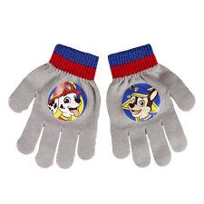 Disney Paw Patrol Kinderhandschuhe Jungen Winter Handschuhe mit PVC Aufdruck NEU