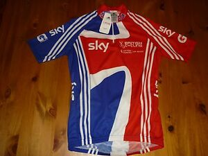ADIDAS BRITISH CYCLING JERSEY SHORT SLEEVE SIZE LARGE BNWTAGS BRAND NEW IN BAG