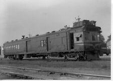 9DD474 RP 1940s/80s AT&SF SANTA FE RAILROAD DOODLEBUG GAS ELECTRIC #M176