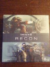 NEW MERCS Recon - Counter Threat Board Game FACTORY SEALED