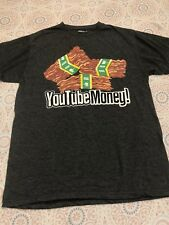 Men's Epic Meal Time Youtube Money! Dark Gray T-shirt Size M