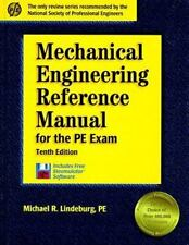 Mechanical Engineering Reference Manual for the PE Exam: 10th Edition (Engineer
