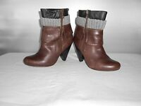 Women's Jessica Simpson Brown Fashion Ankle Boots Size 6 B