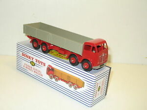 DINKY Toys 901 SUPERTOYS - FODEN 8 roues wagon Red/Grey 1:50, Atlas 4667110