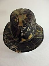 CAMO FEDORA STYLE HAT - GREEN Real Tree Design Size XL Camouflage Vented