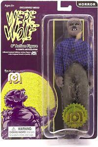 "Mego Horror WEREWOLF Full Body Flocked Limited Edition 8"" Action Figure"