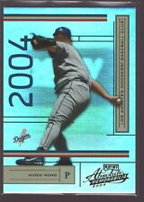 HIDEO NOMO 2004 PLAYOFF ABSOLUTE MEMORABILIA REFRACTOR MINT SP DODGERS /1349