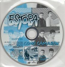 "ESTOPA ""COMO CAMARON"" ULTRA RARE SPANISH PROMO CD SINGLE / HERMANOS MUÑOZ"
