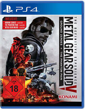 Ps4 METAL GEAR SOLID V 5 the Definitive Edition Phantom Pain & Ground Zeroes NUOVO