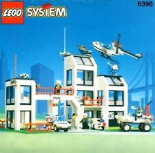 Lego 6398 Police Station Central Precinct HQ 100% Complete, with Instructions
