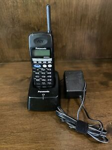 Panasonic KX-T7885 Cordless Expansion Telephone With Base And Battery Rare Used