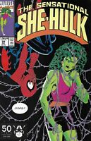 The Sensational She-Hulk Comic Issue 29 Copper Age First Print 1991 Simonson