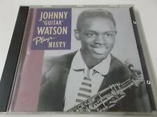 41691 - JOHNNY GUITAR WATSON PLAYS MISTY - 1991 POINT CD ALBUM (027726201023)