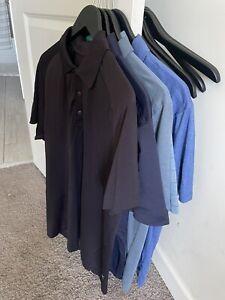 5 Lululemon Large Golf/athletic Short Sleeve Shirts Lightly Used No Reserve