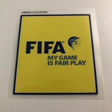 FIFA World Cup Russia 2018 - FIFA Fair Play Sleeve Badge Patch