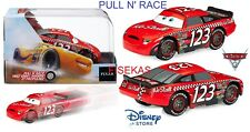 Disney Store Cars 3 Die Cast Collector Case Box Todd Marcus Pull N Race 1:43 NEW