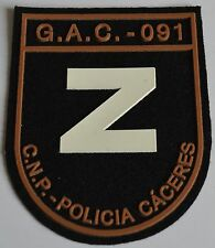 Spain Police Cuerpo Nacional De Policia Caceres Patch - G.A.C. 091