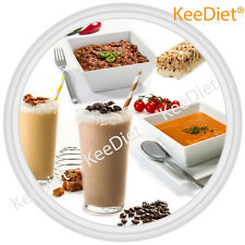KeeDiet VLCD Meal Replacement Diet - Set 56 Shakes Meals Soups Bars Free Blender