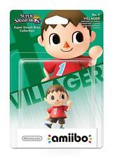 Villager No 9 amiibo - Super Smash Bros Collection (Nintendo Wii U/3DS) - NEW
