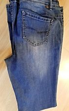 New listing Almost Famous Women's Denim Blue Jeans Size 12 Stretch Pre-owned Good Condition